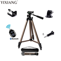 YIXIANG photo smartphone mount selfie digital camera tripod stand travel tripod portable for sport action camera iPhone gopr