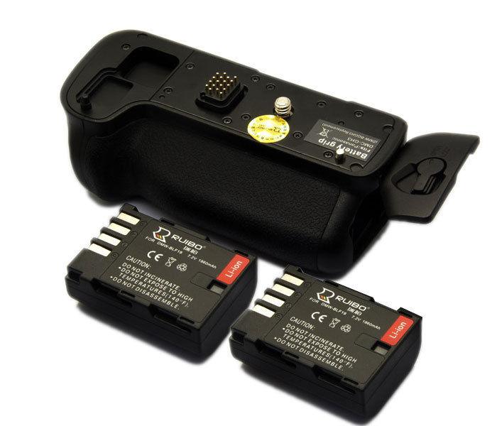 JINTU Vertical Power Battery Grip Pack +2pcs BLF19 battery kit For Panasonic Lumix GH3 GH4 DSLR Cameras Replacement DMW-BGGH3 цена и фото