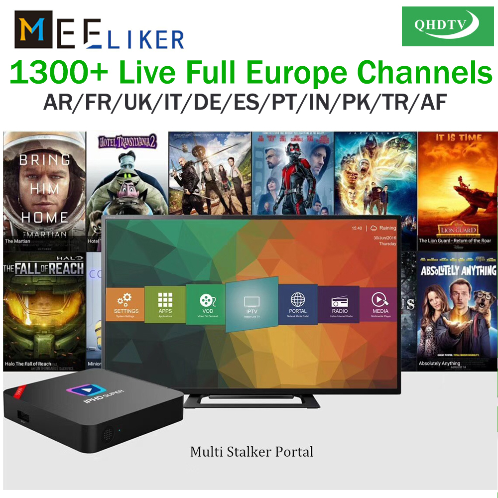 US $38 49 |Best Linux set top box S900 IPHD India Pakintan IPTV Box QHDTV  IPTV Subscription Arabic French UK African Sports Smart TV Box 2G-in  Set-top