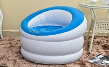 cylinder flocking pvc inflatable lazy sofa household single sofa,column shape back support air bean bag chair