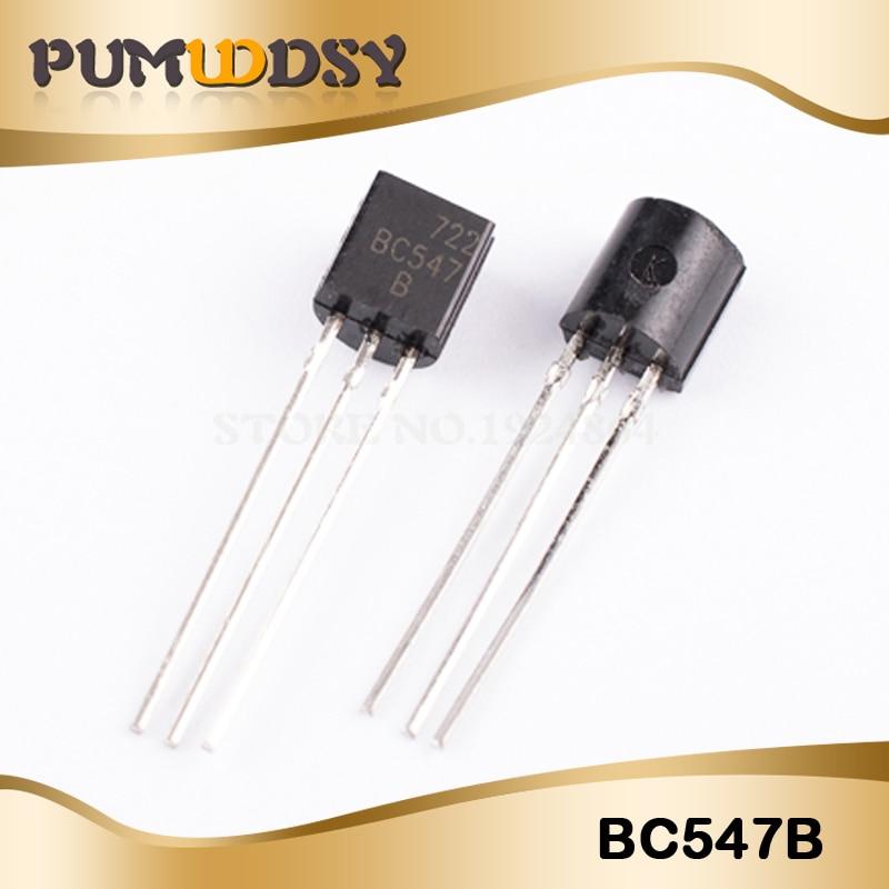 100pair=200pcs BC547 BC557 BC547B BC557B NPN PNP TO-92 IC