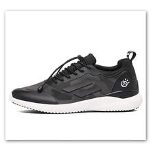 New High QualityTrainer Musim Panas Pria Fashion Sepatu Berkualitas Tinggi Untuk Pria pria Kebugaran Designer Kasual Boots Abu-abu Hitam