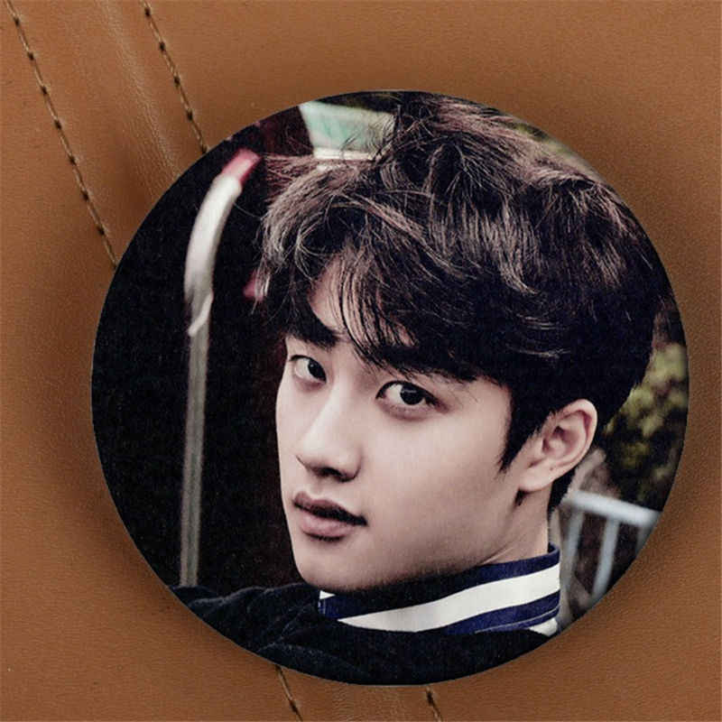 Youpop KPOP EXO EXO-K EXO-M אהבה לי ימין אלבום סיכת K-POP פין תג אביזרי בגדי כובע תרמיל קישוט HZ1626