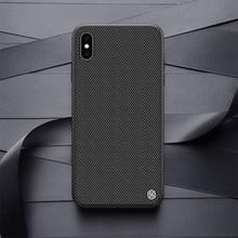Nillkin Fall für iphone XS Max / XR Strukturierte Nylon faser fall zurück abdeckung für iphone XS / XS MAX durable non slip Dünne und licht