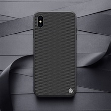 Nillkin etui na  For  iphone XS Max/XR teksturowane etui z włókna nylonowego tylna pokrywa dla iphone XS/XS MAX trwałe antypoślizgowe cienkie i lekkie