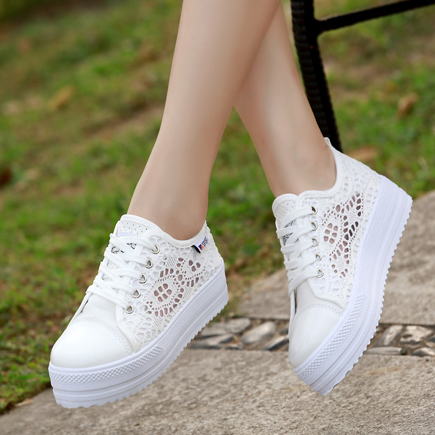 Summer Women Shoes Casual Cutouts Lace Canvas Shoes Hollow Floral Breathable Platform Flat Shoe Sapato Feminino Lace Sandals 2017 summer women shoes casual cutouts lace canvas shoes hollow floral breathable platform flat shoe sapato feminino