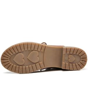 Image 4 - حذاء نسائي من JZZDDOWN حذاء أكسفورد من الجلد الأصلي للسيدات حذاء نسائي من الجلد حذاء نسائي فاخر من الجلد