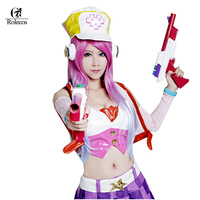 Customized LOL Miss Fortune Cosplay Costume Perucas Set