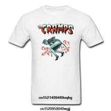 2bff0618 Summer style THE CRAMPS Can Your Pussy Do The Dog Tee T Shirts mens High  quality