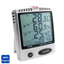 Buy Desktop Dew Point Monitor Humidity Temperature Meter WBGT Tester SD Card Datalogger AZ-87798