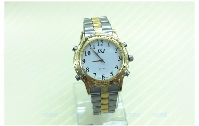 Good Looking German Talking Watch For The Blind And Elderly Or Visually Impaired