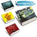 Van Gogh design15 15.6 17 Notebook DIY Piel Del Ordenador Portátil Etiqueta Engomada del ordenador portátil de Netbook Cubierta de Pegatinas Desaceleración