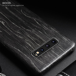 Image 2 - For Samsung Galaxy S10 /S10+/S10e S20/S20+/S20 Ultra walnut Enony Wood Rosewood vintage MAHOGANY Wooden Back Slim Case Cover