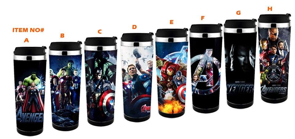 Free Shiping  The Avengers 2 Mug , Captain America Travel Mug  Adversing Mug Easy For DIY , Can Design  Mug For Gift ,