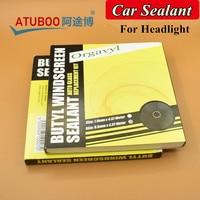 Originele Auto Koplamp Kit Achterlicht Shield Snake Butylrubber Lijm Auto Koplamp Speaker Voorruit Lijm Glas Kit
