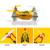 Upslon x bolso Dron Drone Quadrocopter 4CH giroscópio de 6 eixos Quadcopter com Switchable helicóptero de controle RTF RC UAV Drones