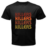 Gildan 100 Cotton Summer Mens O Neck Male Casual T Shirt Top Tees The Killers Indie