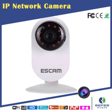 ESCAM QF605 home smart IP camera wifi HD SD card slot 64G for baby security APP Yoosee