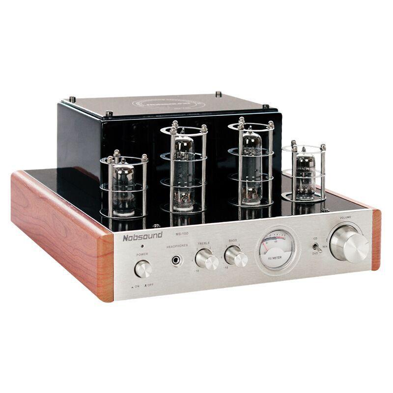 Ms-10d 25W + 25W 6J15 *2 Tube Amplifier Class A HIFI Power Amplifier xege dc2 hifi stereo wireless bluetooth usb tube amplifier headphone amplifier 25w 25w