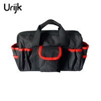 Urijk Double Multi Functional Tool Kit Wear Resistant Oxford Cloth Portable Maintenance Kit Electrical Tool Bag