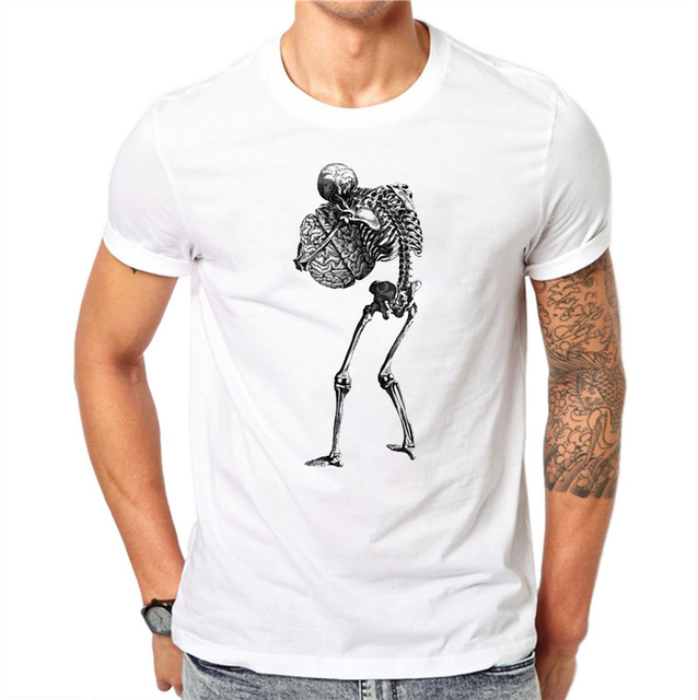 SKELETON SKULL T-SHIRT