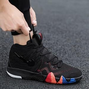 Image 4 - Irving 46th geração masculino tênis de basquete masculino scarpe uomo ao ar livre antiderrapante formadores zapatillas hombre casual