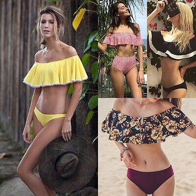 13cba479a0 GLANE Brief New 2017 Hot UK Women Padded Push-up Bikini Set Swimsuit  Bathing Suit