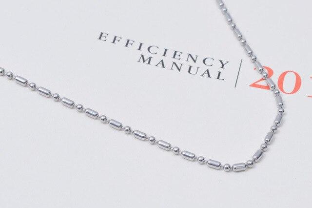 Slub slub chain chain. Titanium. Boys. The silver necklace chain necklace. Naked men. 2