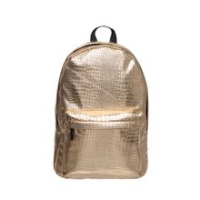 Золотой крокодил женщины рюкзак Лазерная плеча сумки для женщин девушки назад мешок блестящие большой Органайзер рюкзак студентов колледжа мешок