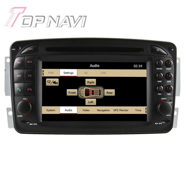 7 inch Wince Car Radio Stereo For Vaneo (2002-2005) for Viano (2004-2011)/Vito (2004-2006)/E-W210(1998-2002.1)/C-W203(2000-2005)