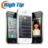 Fabrika Unlocked Orijinal Apple iphone 4 S 8 GB 16 GB 32 GB 64 GB Cep telefonu Çift çekirdekli Wi-Fi GPS 8.0MP 3.5