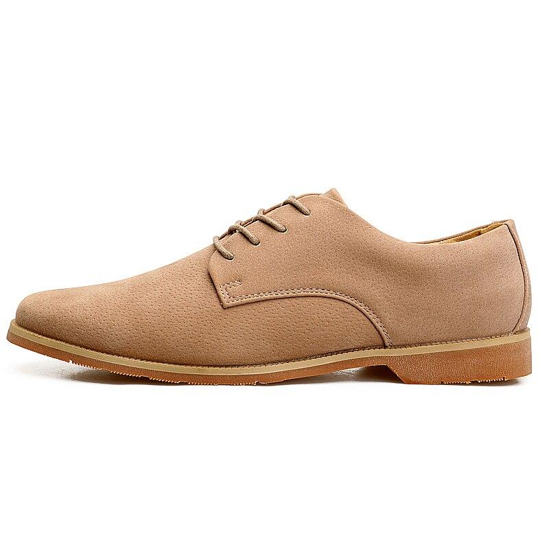 Couro Calçado laranja Luxo Designer De Camurça Para Masculino Sapatos Italiano Moda Casual Escritório Trabalho Preto Homens cinza Masculinos Marca Homem Vestido Oxford 1qvtc8