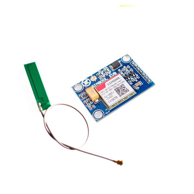 New SIM800L GPRS GSM Module w/ PCB Antenna SIM Board Quad band for MCU for