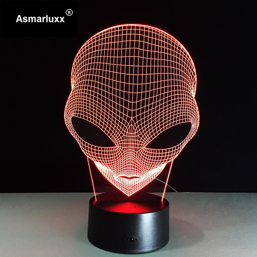 Asmarluxx 3d led lamp9012