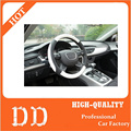 car steering wheel cover black red white gray automobiles interior accessaries fit 90% cars car-styling for Audi Volkswagen
