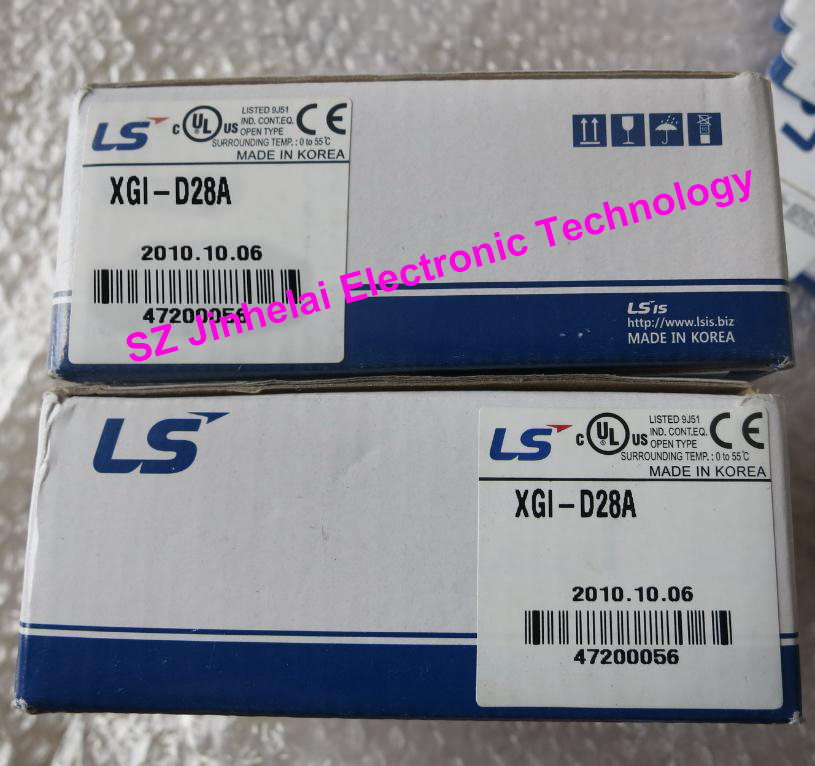 100% New and original XGI-D28A LS PLC Input unit, DC24V Input 64 points, (Sink/Source) 100% new and original xgq ss2a ls plc output unit ssr current sink type output 16 points ac 110 220v 0 6a
