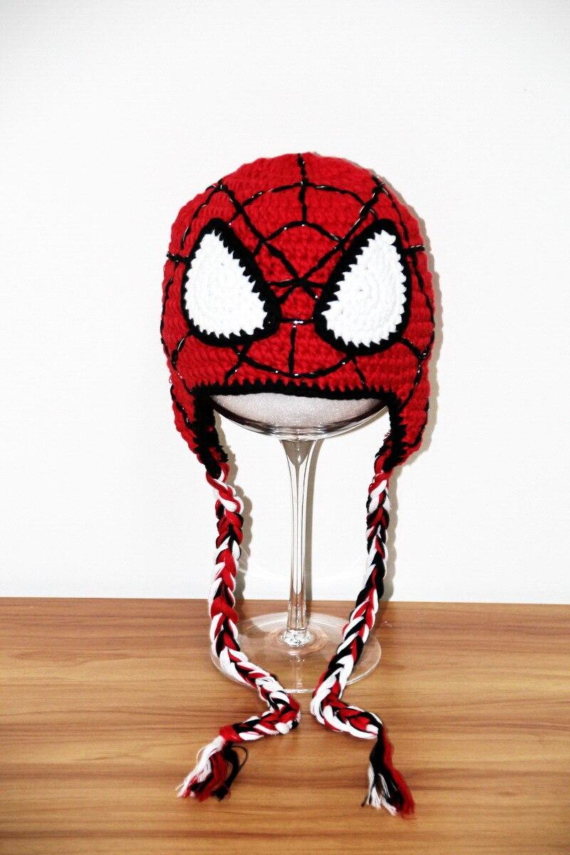 Envío libre, de los niños del hombre araña del sombrero, ganchillo ...