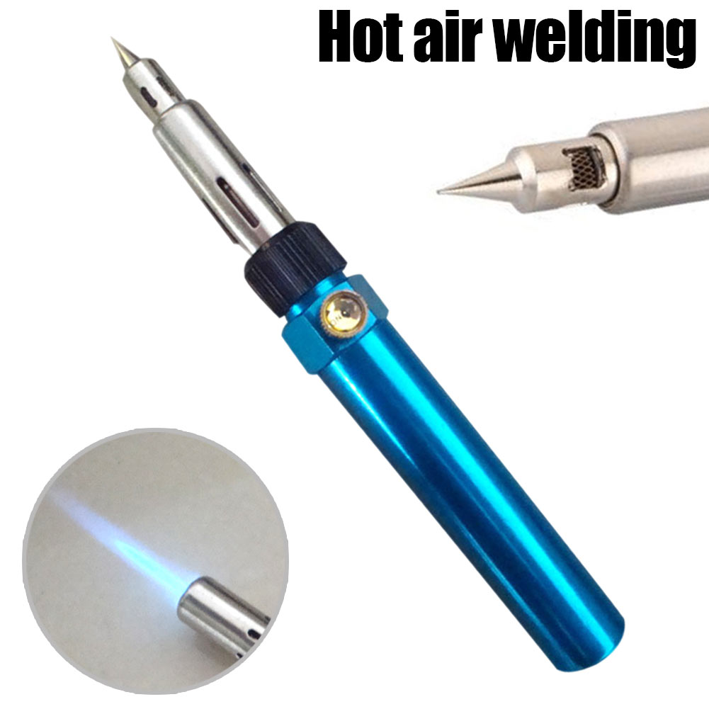 Multifunction Gas Soldering Iron Cordless Welding Pen Wireless DIY Butane Blow Torch Tool ALI88 wp 9v sr 9v tig welding torch complete air cooled gas valve control 125amp 26feet 8meter soldering iron