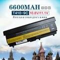 """9 celdas 7800 mah batería para lenovo thinkpad l410 l412 l421 l420 l510 L512 L520 SL410 SL510 T410 T410i T420 T510 T520 Edge 14"""""""