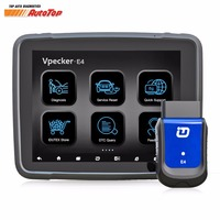 2018 Vpecker E4 OBD2 Wifi/Bluetooth OBD 2 Automotive Scanner+8 inch Android Vpecker Tablet ODB 2 Autoscanner Diagnostic Tools