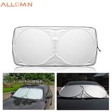 Window Aluminum Foil Sun Shade Car Windshield Visor Cover Block Front Window Sunshade UV Protect Car Window Film 150*70cm