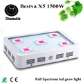 LED Grow Light Fitolampa 2017 Dimmable BESTVA X5 1500W  Full Spectrum Plant Light Plant Lamp for Plants Flowers LED Grow Lamp
