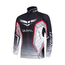 Professionelle Marke Angeln Kleidung 2020 Neue Daiwa Angeln Shirt Atmungsaktiv Schnell Trocknend Anti Uv Lange Sleeve Angeln Kleidung