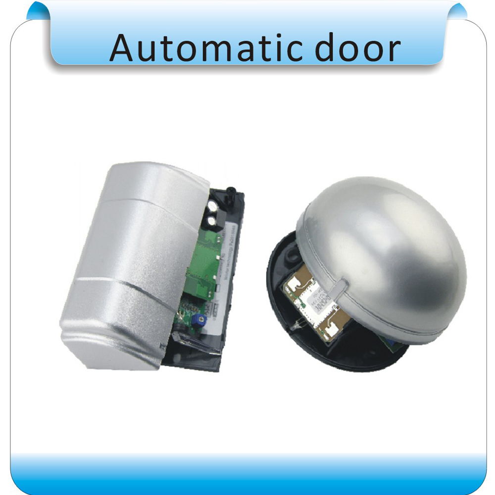 Free shipping DC12V  Automatic door  sensor/ microwave sensor free shipping 50pcs lot 24ghz type automatic door microwave sensor lt s24a black and silver color