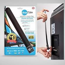 2018 New Black Plastic Digital Antenna Clear TV Key US HD Satellite Indoor TV HDTV Antenna Receiver 2.4GHz-2.45GHz
