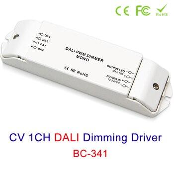 CV 1CH DALI led escurecimento da lâmpada Motorista 12 v 24 v Acessórios de Iluminação de tira conduzida dimmer Dimmers Controlador Frete Grátis