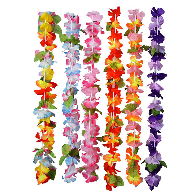 Online shop 36 pieces artificial tropical hawaiian flowers beautiful online shop 36 pieces artificial tropical hawaiian flowers beautiful silk flower leis hawaiian leis flowers garlands wedding party decor aliexpress mobile mightylinksfo