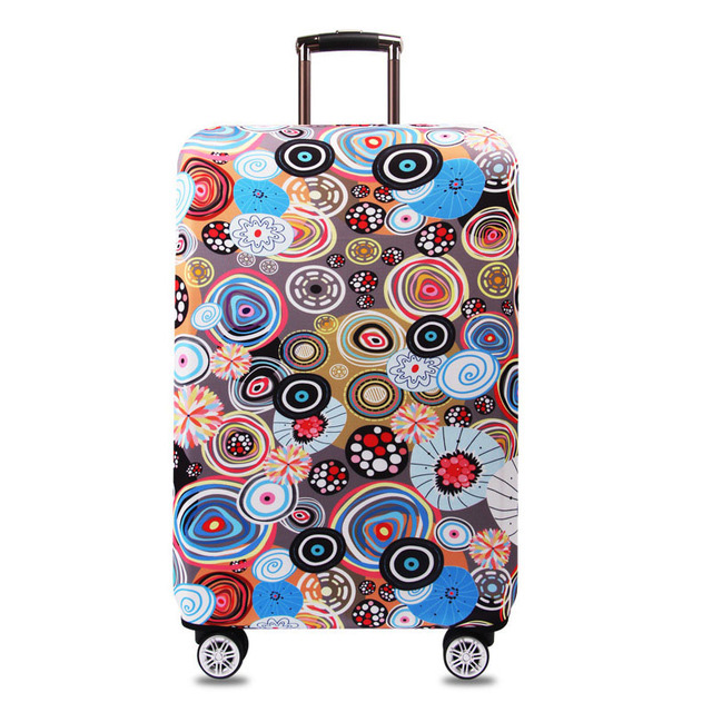 LAVOVO Sun And Moon Zodiac Luggage Cover Suitcase Protector Carry On Covers