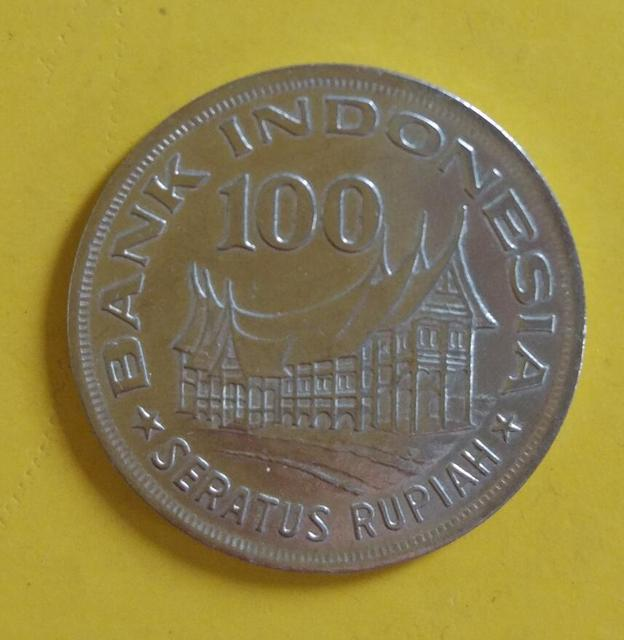 Indonesia Rs 100 Ru Coin Asia World Country Collection Real And Original Coins Old