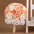 Горячая распродажа 2016 Bridesmaid YIYI свадебный букет индивидуальные свадебные цветы свадебные букеты искусственный букет невесты WB019